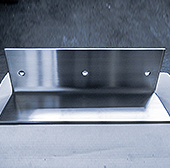 Edged stainless steel profiles